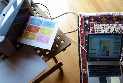 Prototyp wird gedruckt